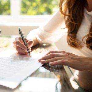 Schreiben-Bueroarbeit