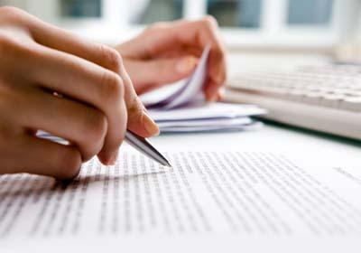 Vorgegebene Texte in Reinform schreiben